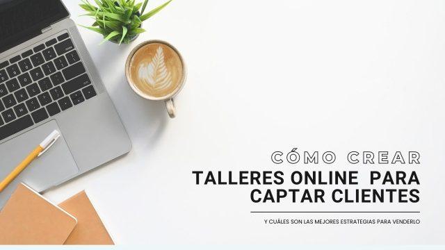 Portada talleres online para captar clientes